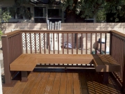 Trex Deck Wood Builder Patio House California MLW Construction Michael Walter Mike Anaheim, Yorba Linda Orange Placentia Diamond Bar Covina Chino Hills Walnut Brea balconies fences decks custom gazebos patio covers bench
